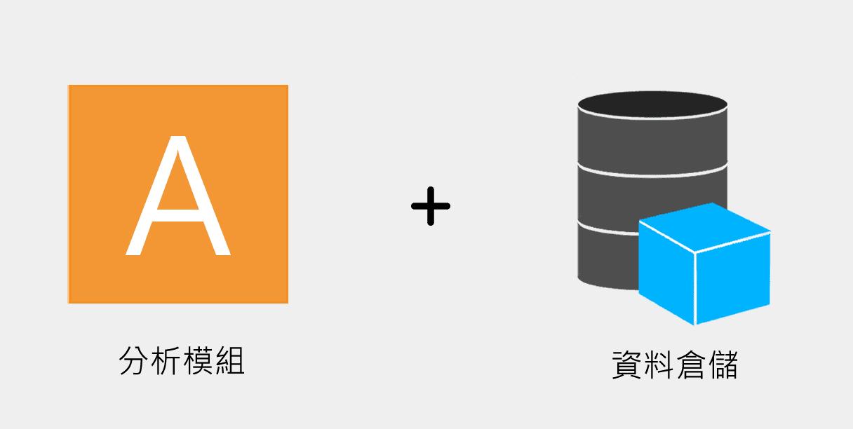 分析模組搭配資料倉儲使用