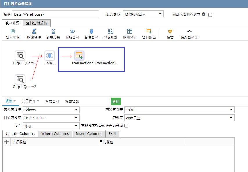 Transaction回寫資料庫設計便利